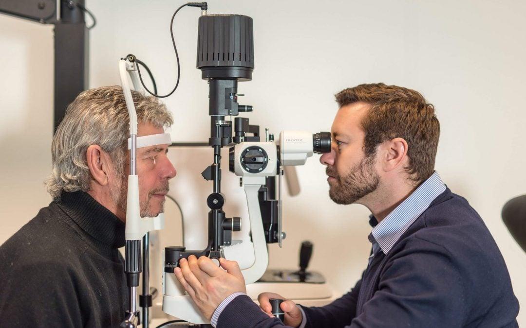Øyelaserbehandling mot synsfeil